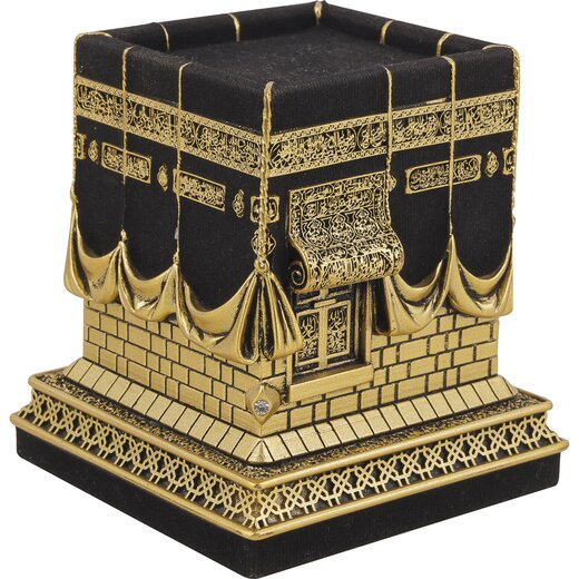 Modell der Kaaba in Gold